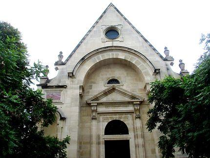Façade: Chapelle de l'hôpital Saint-Louis