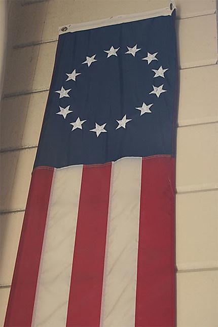 Premier drapeau des Etats-Unis d'Amérique