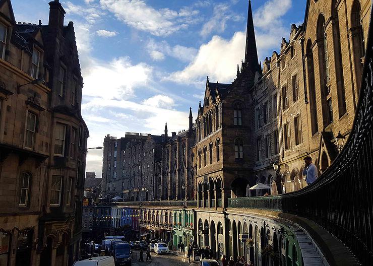 Édimbourg, où est vraiment né Harry Potter