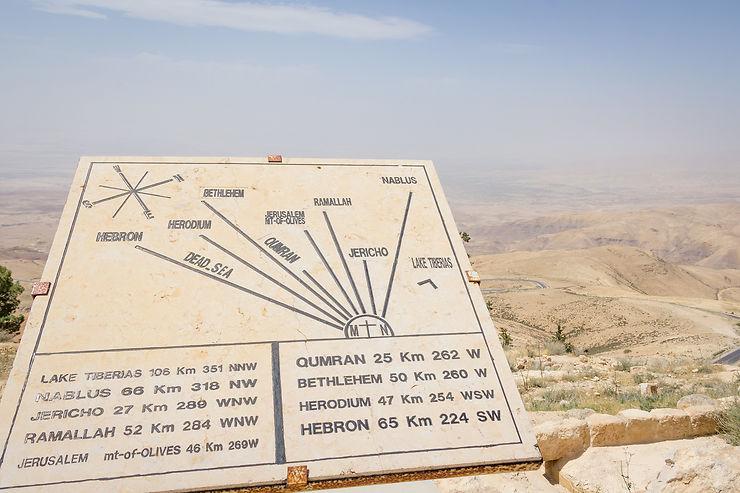 Voir le mont Nébo et mourir
