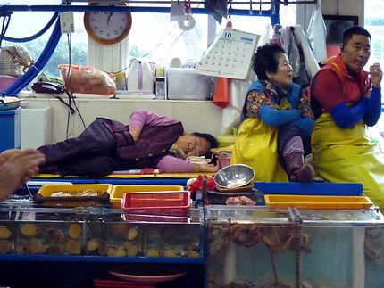 Marché aux poissons de Busan