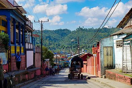 Dans les rues de Baracoa