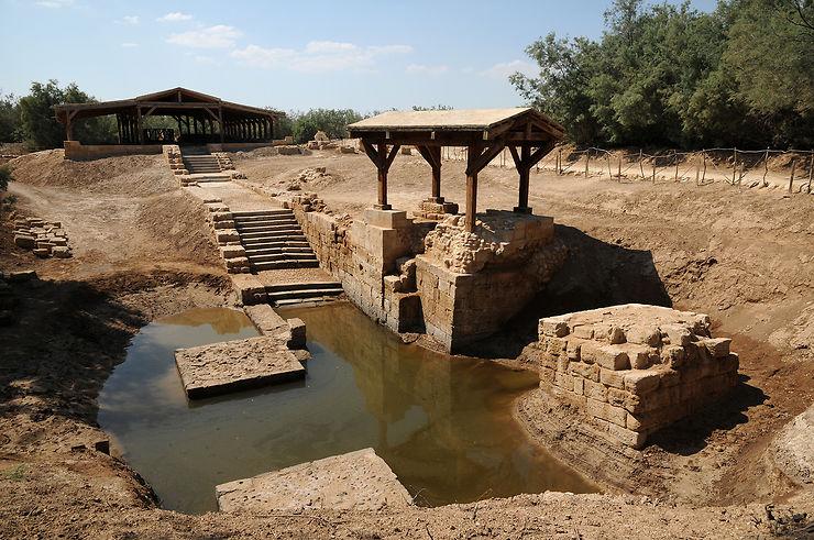 Le Jourdain, haut lieu de baptême
