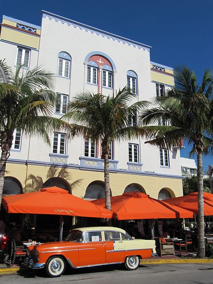 Miami Art Deco sur Ocean Drive