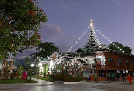 Mae Hong Son, Wat Chong Klang et Kham