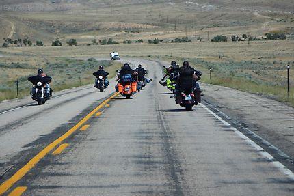Bikers dans le Montana