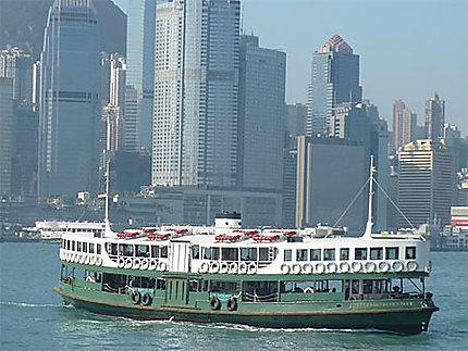 Le célebre Star Ferry de Victoria Bay