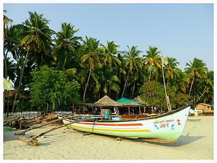 Palolem beach, Goa, Inde du sud