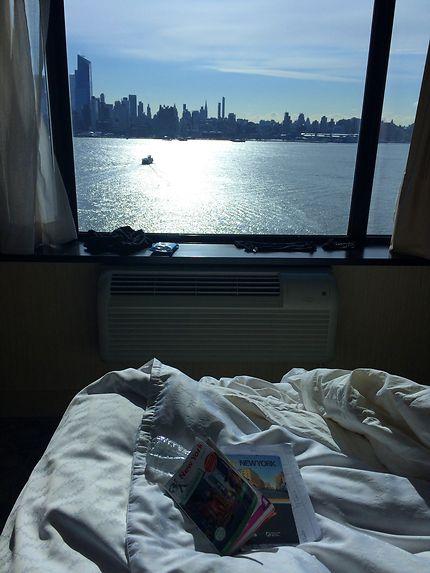 Skyline from a window