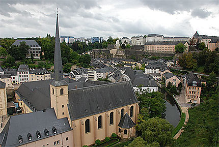 Luxembourg - ville basse