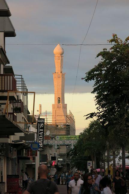La mosquée de saint Denis