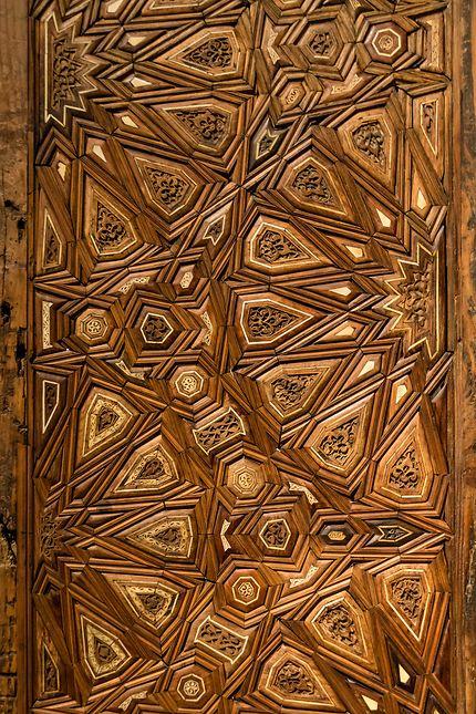 Le Louvre, vantaux de deux portes, détail