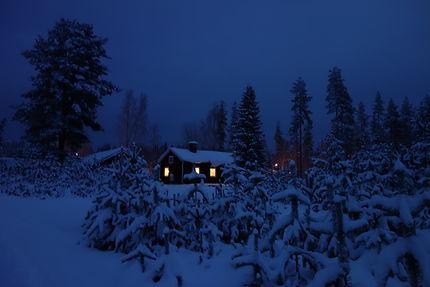 Longue nuit lapone, Suède