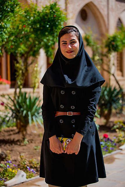 Etudiante iranienne