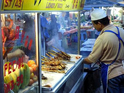 Marché de nuit de Kota Bharu