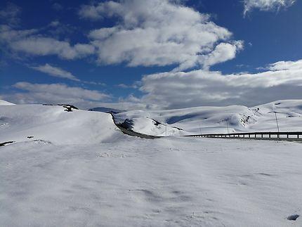 Sur la route en Norvège