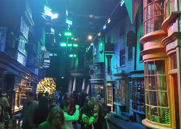 Studio Warner Bros : visite de l'expo Harry Potter