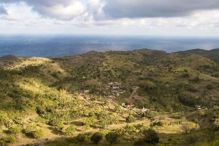 Nusa Penida, côté Sud