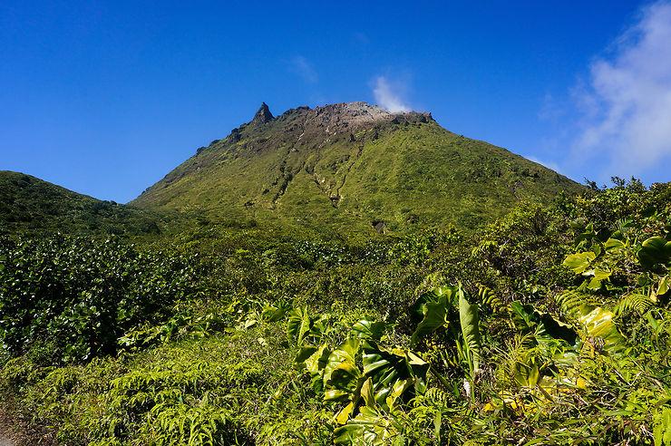 Basse-Terre, sous le volcan de la Soufrière