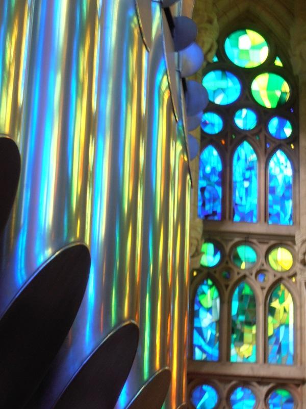 Reflets sur les orgues
