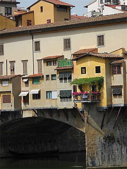 Vie du Ponte Veccio à Florence