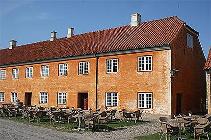 Le restaurant du château de Kronborg