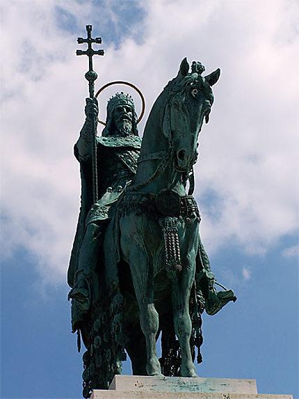 Statue du roi !