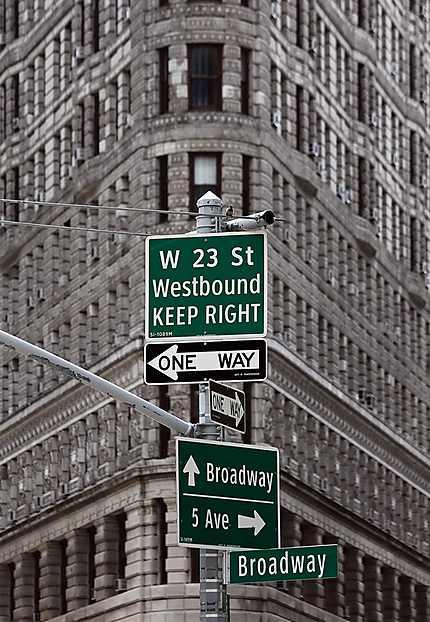 Broadway, one way