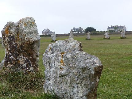 Alignements mégalithiques de Lagatjar à Camaret