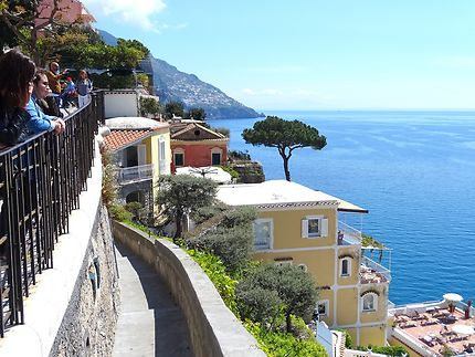 La côte amalfitaine en Italie