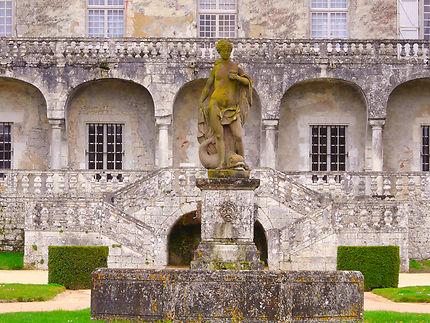 Statue dans le jardin du château