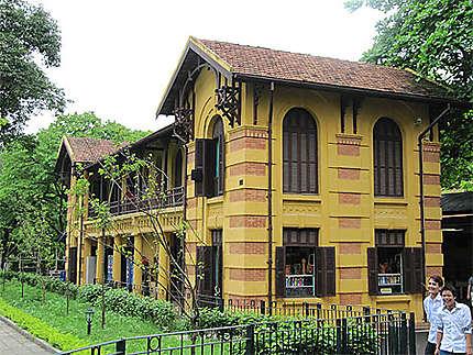 Bâtiment annexe de la Maison du gouverneur à l'époque de l'Indochine Française