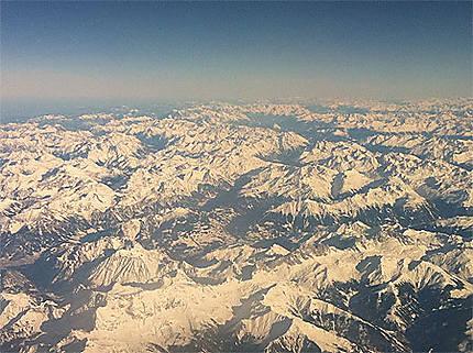 Vue sur les Alpes Autrichiennes