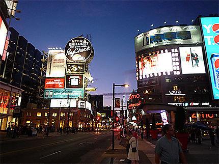 Le soir à Toronto