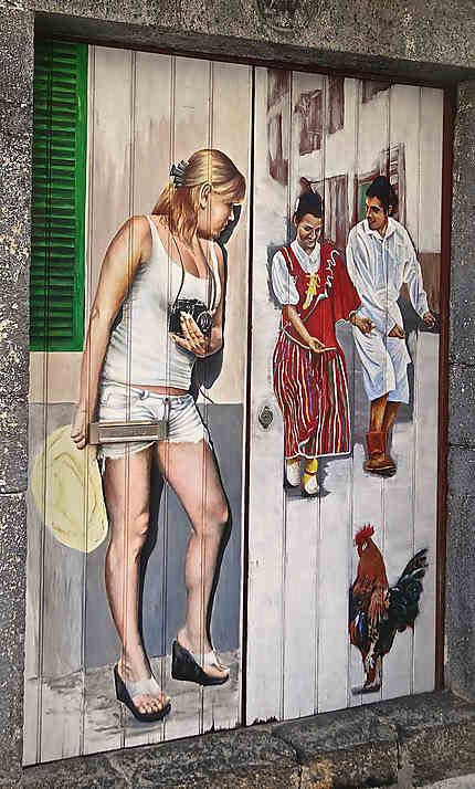 Portes de la rue Santa Maria