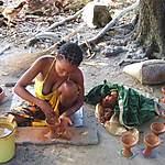 Artisans potiers d'Ambilobe