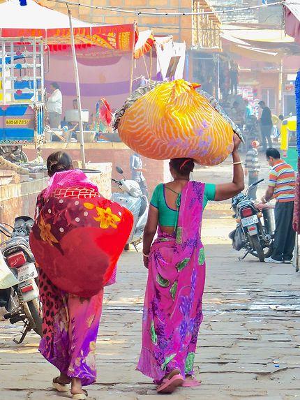 Les couleurs de la rue en Inde