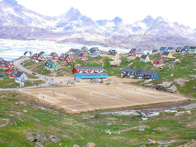 Football au Groenland