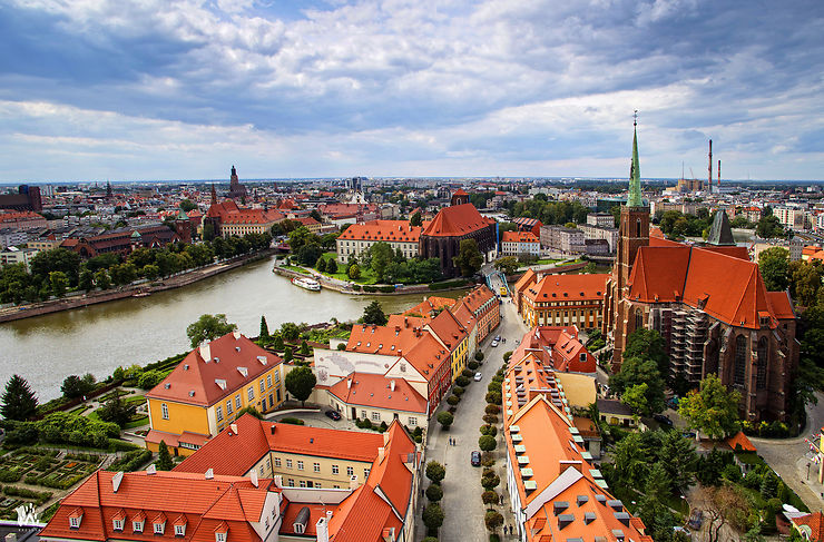 Wroclaw : la Venise de Pologne