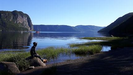 Bon matin au Fjord du saguenay