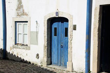 Lisbonne - vieille maison dans l'Alfama