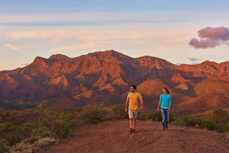 Flinders Ranges, l'Outback dans toute sa splendeur