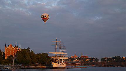 Skeppsholmen et Chapman