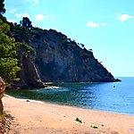 Criques a Sant Feliu de Guixols, Costa Brava