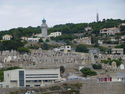 Cimetière sur la falaise, Sète