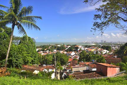 Olinda au nordest Brésilien
