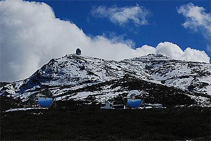 Télescope de l'observatoire Roque de los Muchachos