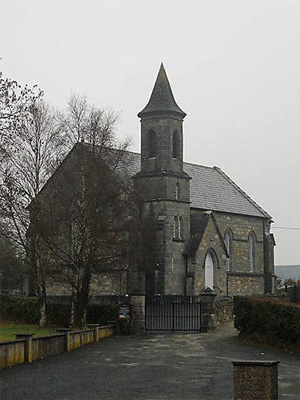 Kilmacrenan, église