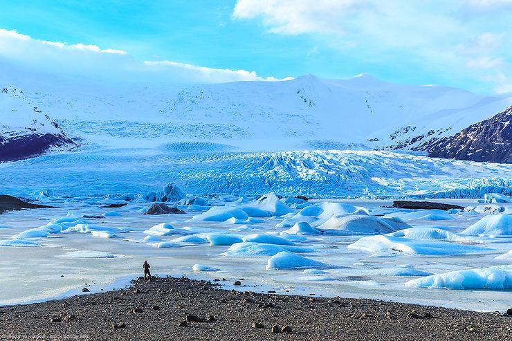 Islande - Le parc national Vatnajökull classé au Patrimoine mondial de l'Unesco
