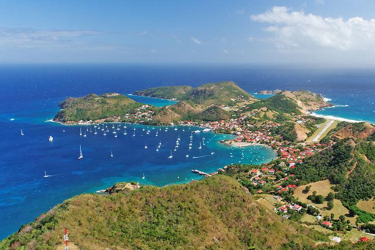Marie-Galante et Les Saintes, au large de la Guadeloupe
